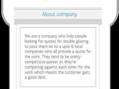 Windows glazing informational website (price compare)