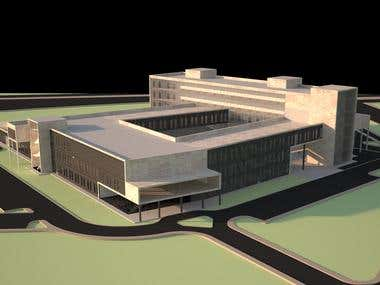 Hospital Project Render's
