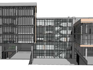 Town Hall Center Project  Render and Design