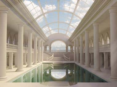 """The Pool"" - Architectural Design - Interior"