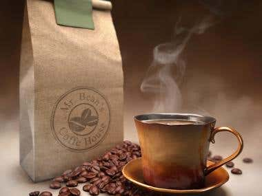 Product Visualization for Coffee