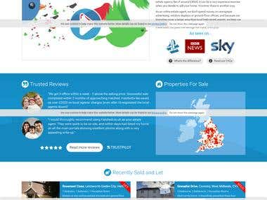 Real Estate portal in United Kingdom