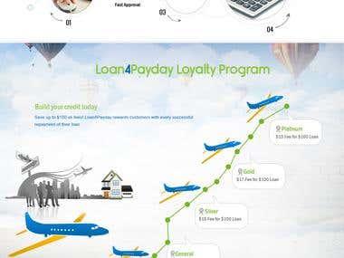 website design - Loan4payday