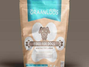 Packing design for Pets food
