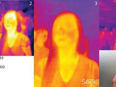 Comparison of many thermal cameras