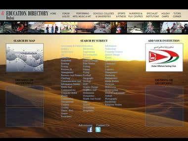 Dubai Education Directory