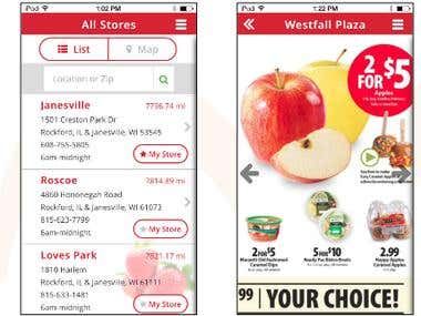 Schnucks App: Shopping App for Retail Store Chain