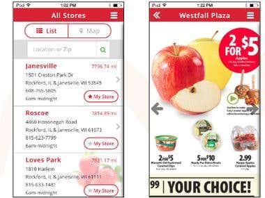 Schnucks App: Shopping App for Retail Store Chain
