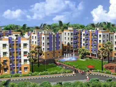 Amar Kunj 3D Design