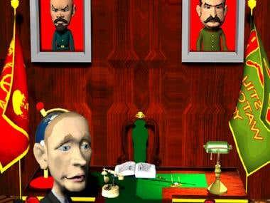Talking Putin Game