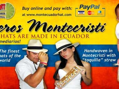 Facebook cover for MontEcuadorHat
