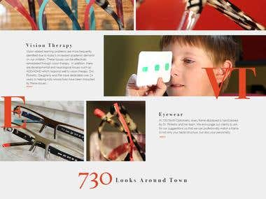 PSD to WP (bootstrap FW): 730northoptometry.com