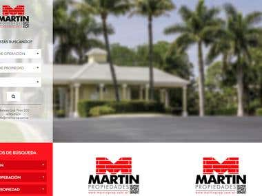MARTIN PROPIEDADES - web for real estate management
