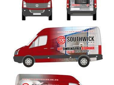 Southwick VW Crafter (winning entry)