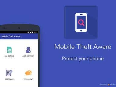 Android App - Mobile Theft Aware