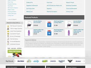 Website Design - Pharmacy