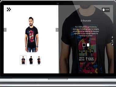 E-commerce - www.souldeepskin.com