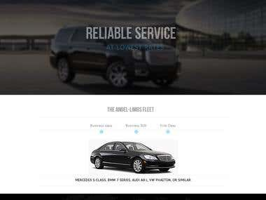Angel-limo : WordPress project