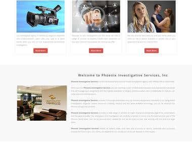 Investigative Website