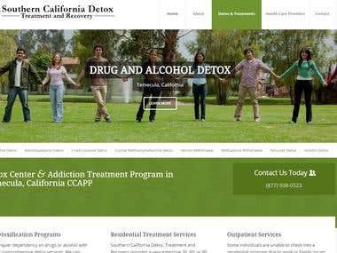 New Website Design for So Cal Detox