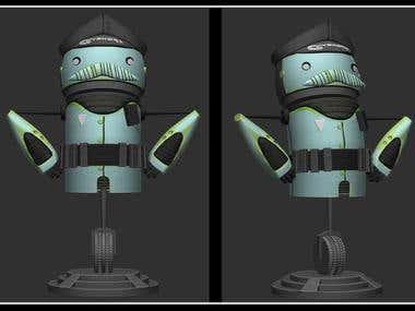 Bobblehead For 3d print