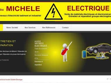 Site web de Michele Electrique