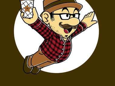 Hipster plumber