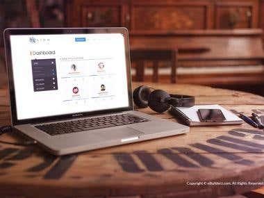 ATOM WEB APP UI/UX DESIGN