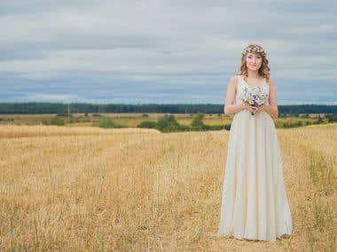 Wedding photo + retouching