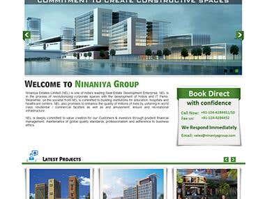 Ninaniya Estate - Full Website Design - Wordpress