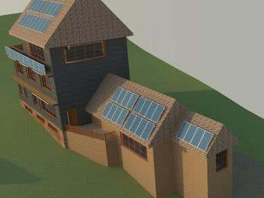 Net zero passive house
