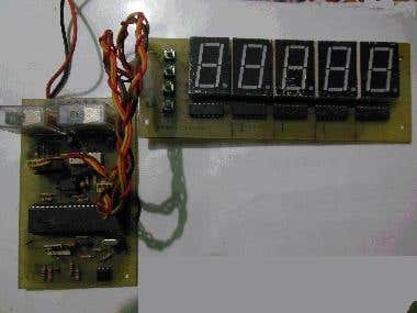 Motor control and display