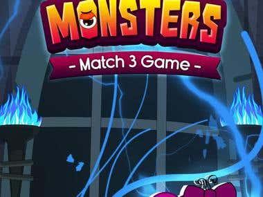 Match 3 game Reskin