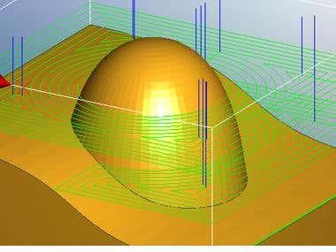 CNC 3D Tool Path