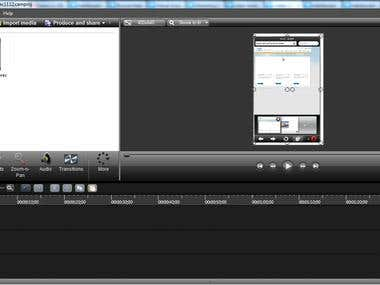 Camtasia Video record and edit
