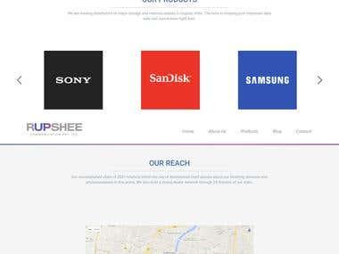 Rupshee - Wordpress