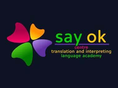 SayOk Logo Design