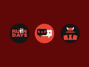 Ruin Days Icon Design