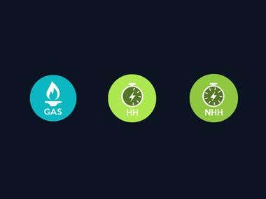 Gas Icon Design