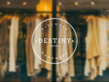 Destiny Clothing (Logo)