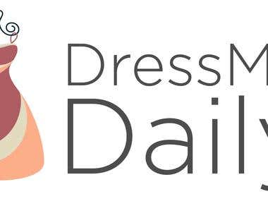 DressMe Daily Logo and BlogRedesign