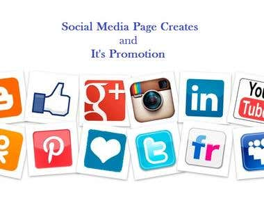 Social Media Site Creation