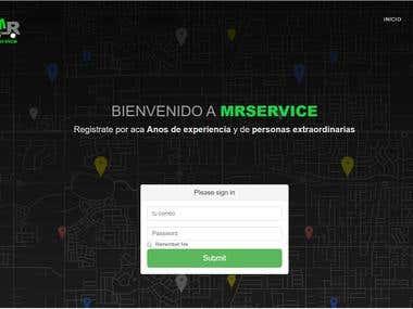 MRService Website