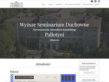 Website for a polish seminar
