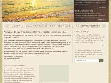 Platinum Medical Spa Website