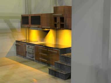 Interior modeling & render