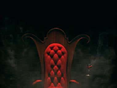 Book Cover, Dracula - Bram Stoker