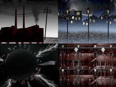 Music Video, Animation, 2D design