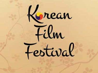 Flyer Korean Film Festival
