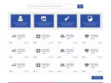 Online E-commerce Website